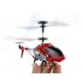 Metal Çantalı Gyro'lu Metal Helikopter